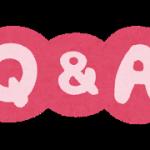 Q&A、自律神経失調症、質問